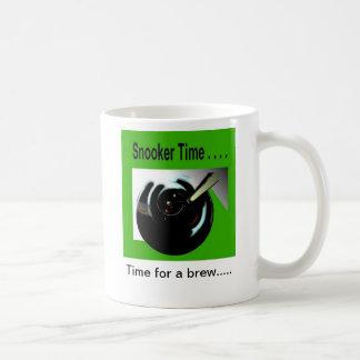 snooker time coffee mug
