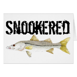 Snookered- Snook Card