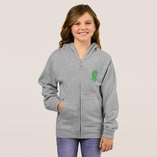 Snoomies Girl's Basic Zip Hoodie