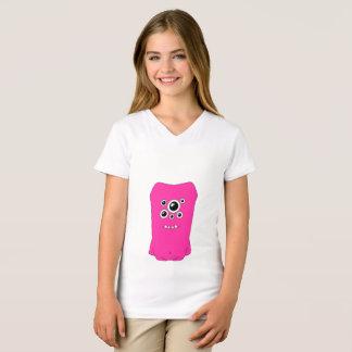 Snoomies Girls' Fine Jersey V-Neck T-Shirt