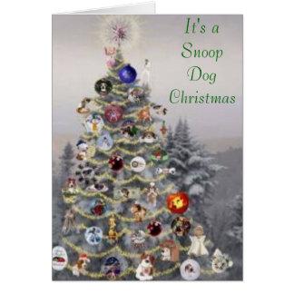 Snoop Tree, It's a Snoop Dog Christmas Card