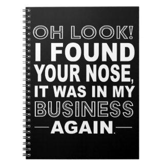 Snooper Control Notebook