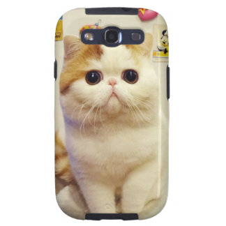 Snoopy Cat Samsung Galaxy SIII Cases
