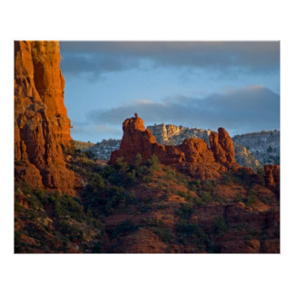 Snoopy Rock in Sedona 2203 Poster