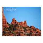 Snoopy Rock: Sedona, Arizona Postcard