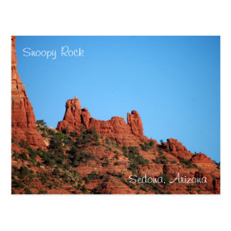 Snoopy Rock: Sedona, Arizona Postcard