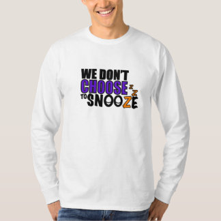 Snooze Unisex Long Sleeved Shirt