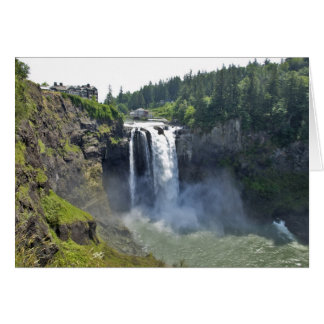 Snoqualmie Falls 11 Card