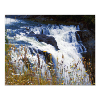 Snoqualmie Falls Close-up Photo Print