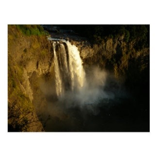 Snoqualmie Falls in the Evening Sun Postcard