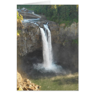 Snoqualmie Falls Note Card