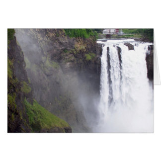 Snoqualmie Falls Power House Card