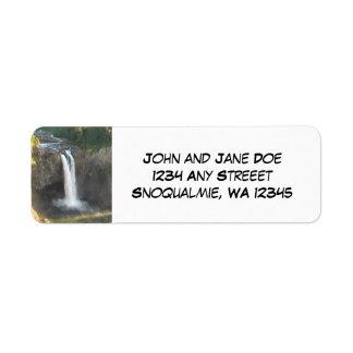 Snoqualmie Falls Return Address Labels