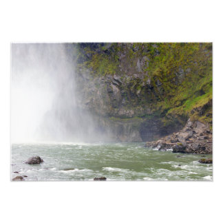 Snoqualmie Falls River Basin Photo Print