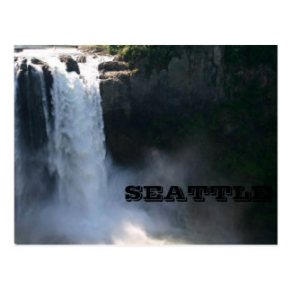Snoqualmie Falls, Seattle Postcard