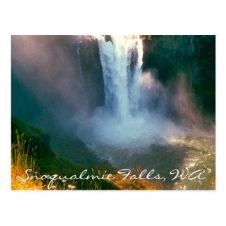 Snoqualmie Falls, WA Postcard