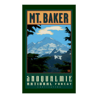 Snoqualmie Nat'l Forest Poster