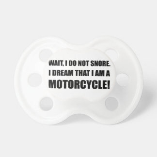 Snore Motorcycle Pacifier