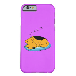 Snoring Airedale Terrier Dog iPhone 6/6s Case