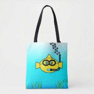 Snorkel Fish Tote Bag