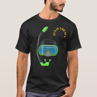 snorkel fun in the sun summer snorkelling tshirt 2