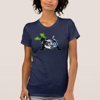 Snorkel Panda (dark shirts) T-Shirt