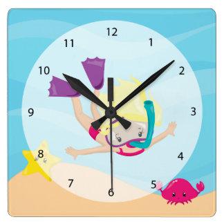 Snorkeling Clock