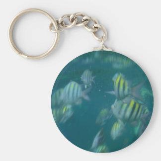snorkeling keychain