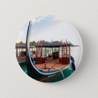 Snorkelling Boat 2 Inch Round Button