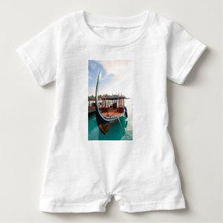 Snorkelling Boat Baby Romper