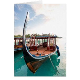 Snorkelling Boat Card