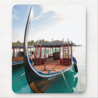 Snorkelling Boat Mouse Pad