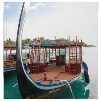 Snorkelling Boat Napkin