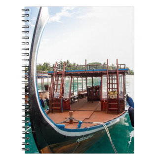 Snorkelling Boat Note Book