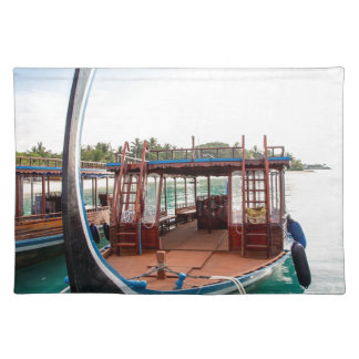 Snorkelling Boat Placemat