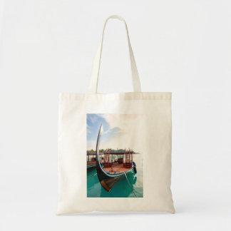 Snorkelling Boat Tote Bag