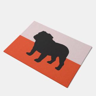 SNORT bulldog doormat