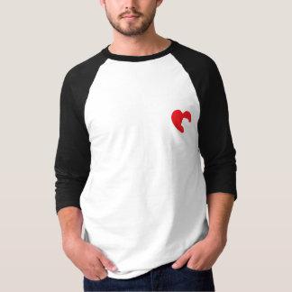 SNORT Heart - Bulldog T-Shirt