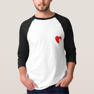 SNORT Heart - Frenchie T-Shirt