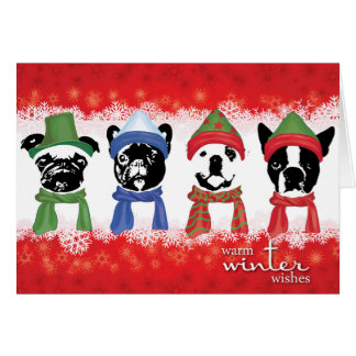 """SNORT Holiday Card (Large - 7"""" x 5"""")"""