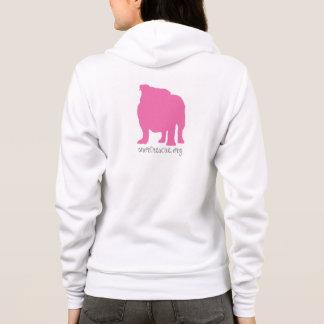 SNORT Pink Bully Hoodie
