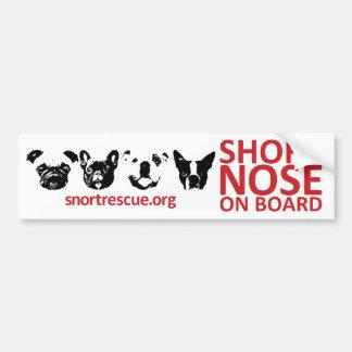SNORT Short Nose Onboard Bumper Sticker
