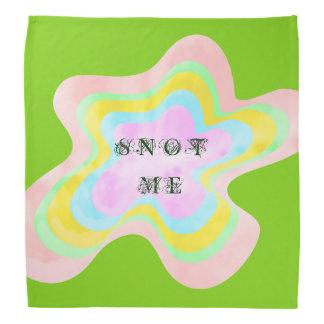 Snot Me Green Bandana by Janz