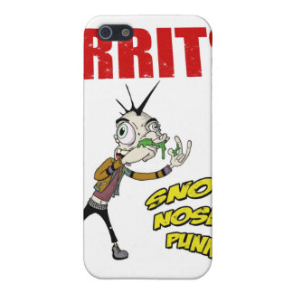 Snot Nose Punk iPhone4 Hard Case iPhone 5/5S Cases