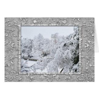Snow 6095 Christmas Card