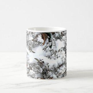 Snow Abstract Coffee Mug