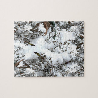 Snow Abstract Jigsaw Puzzle