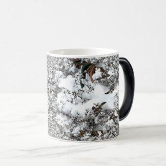 Snow Abstract Magic Mug