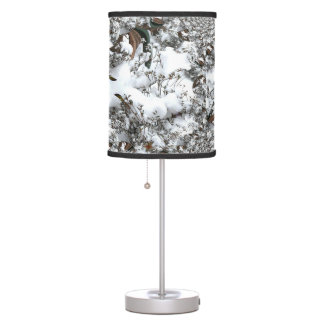 Snow Abstract Table Lamp