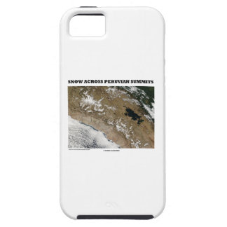 Snow Across Peruvian Summits (Picture Earth) iPhone 5 Cover